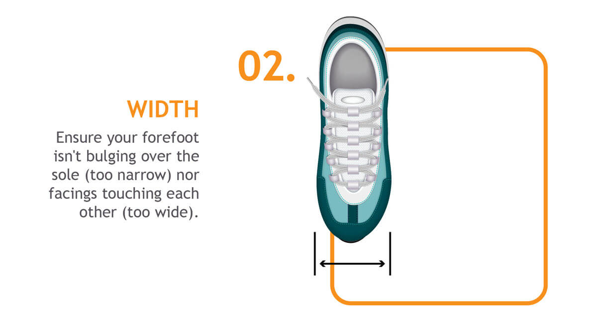 Forefoot width
