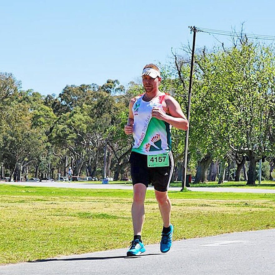 matt at the Adelaide 6-day ultramarathon 2014