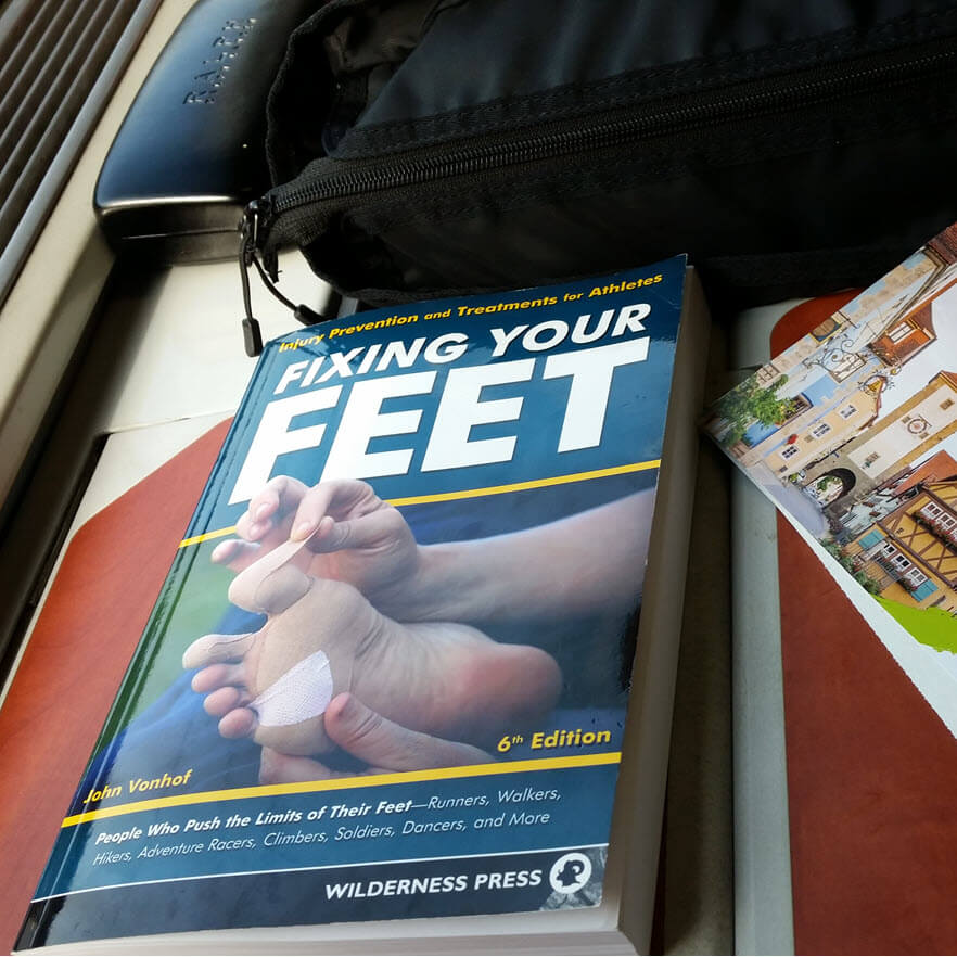 Fixing your feet 6th edition - John Vonhof