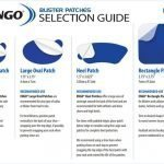 ENGO Blister Patch shape selection guide