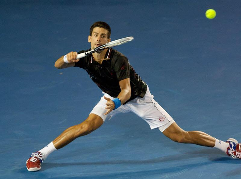 the mechanical demands on the feet in tennis