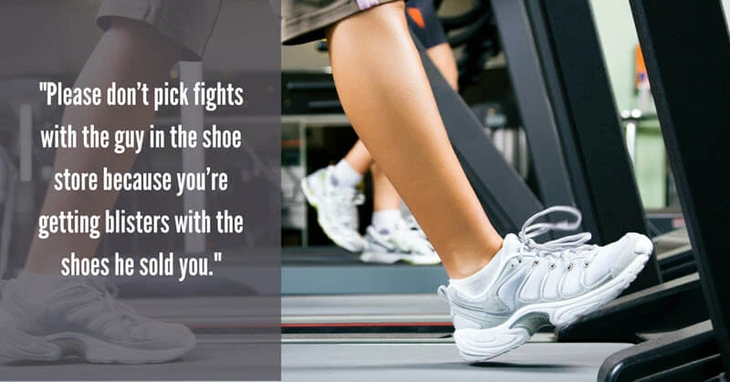Are your shoes giving you blisters?