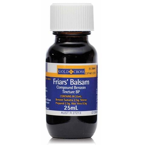 friars balsam is used for hot-shot blister treatment