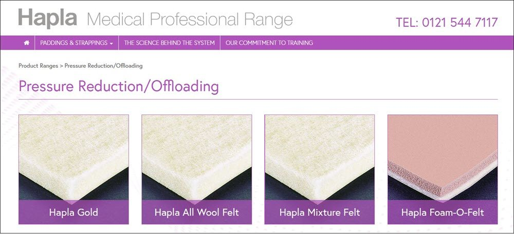 The Hapla deflective padding range from Cuxson Gerrard