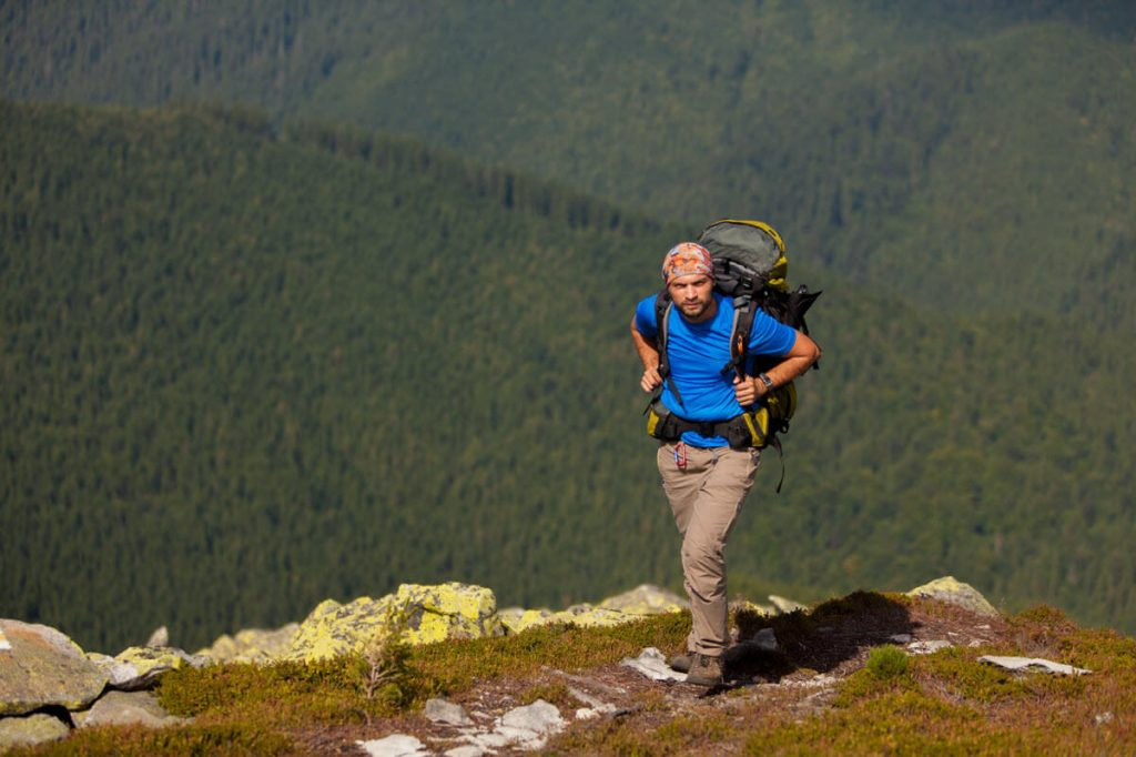 Russell's hiking blister prevention plan