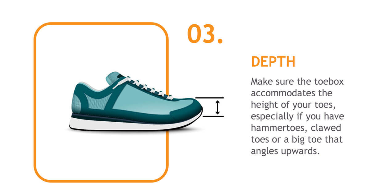 toebox depth shoe fit