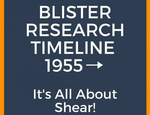 Blister Research Timeline: It's All About Shear