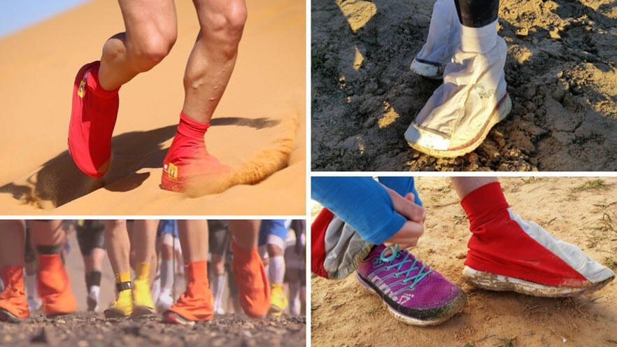 gaiters can keep your feet dry
