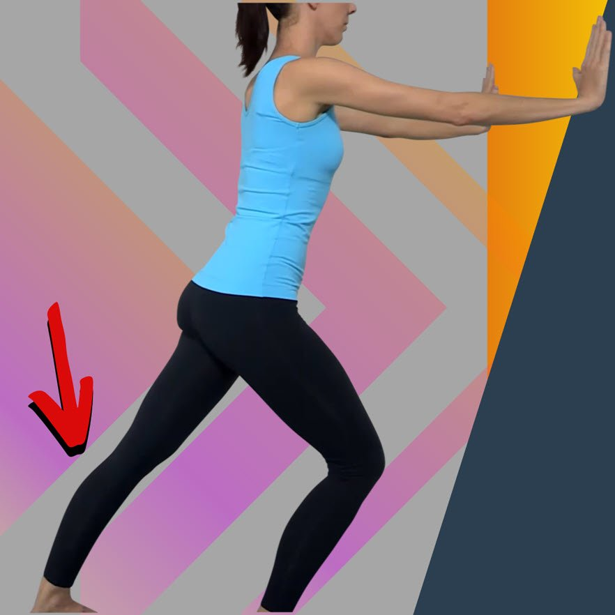 How to stretch your calf muscle - the importance of foot position
